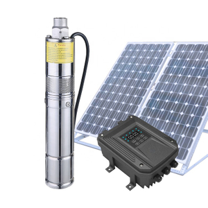 Submersible Solar Powered Water Pump with Built in MPPT Controller
