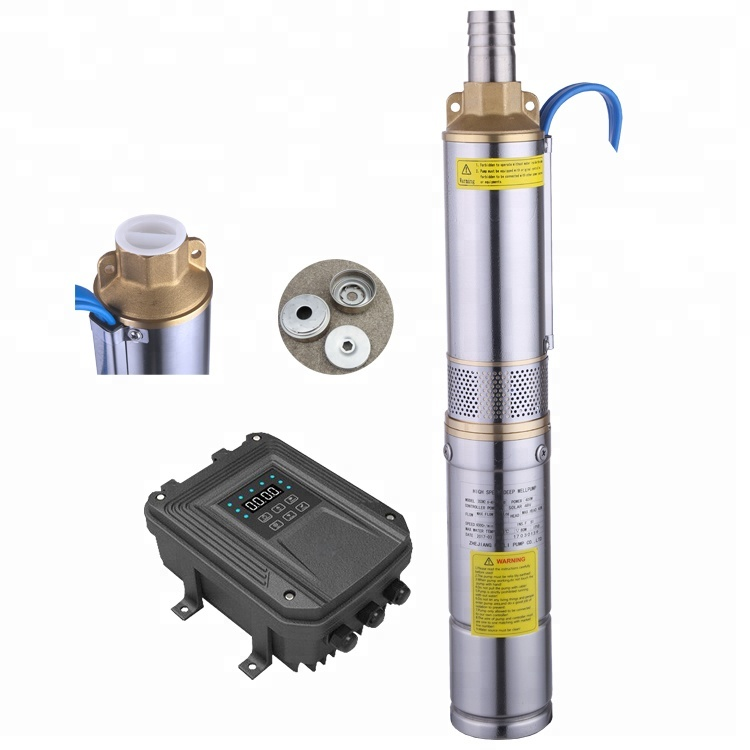 3inch 48v Dc Water Pump Brushless Solar Powered Water Pump Dc Solar Submersible Pump