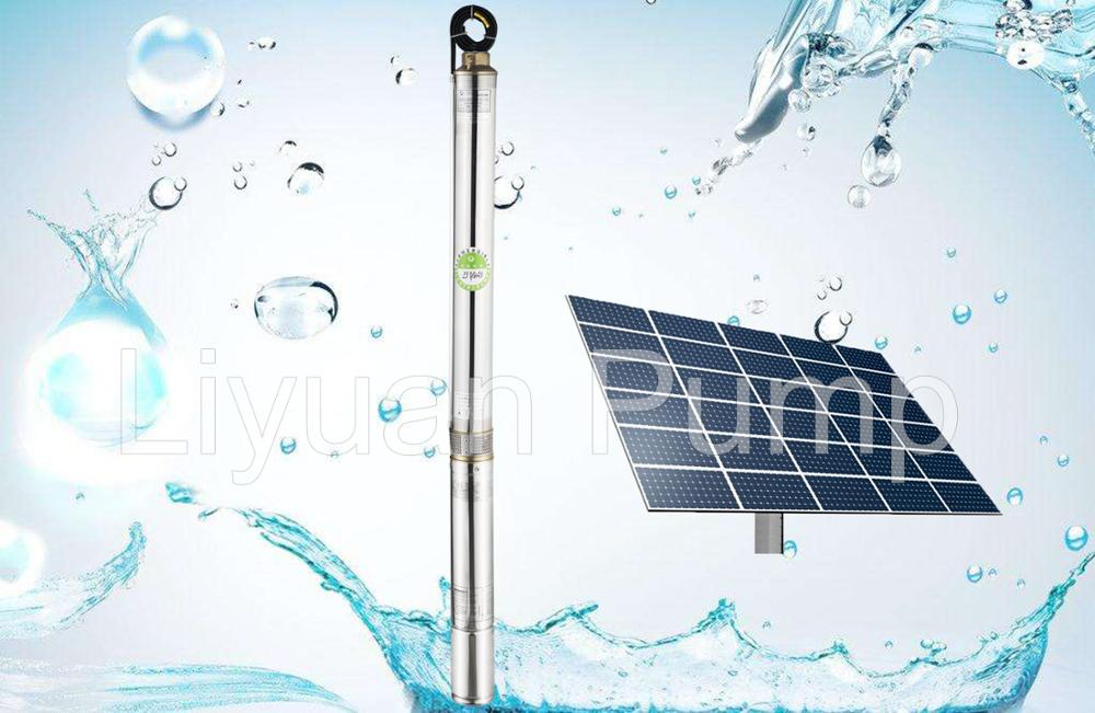 China Submerged Pump, DC Solar Submersible Pump Price