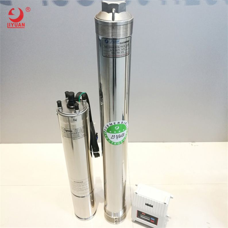 Hot Sale Electric Brushless Submersible Solar Water Pump