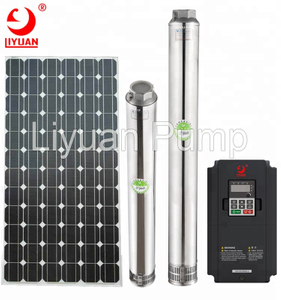 Factory Wholesale Standard 5kw Garden Deep Well Submersible Solar Water Pump Guangzhou 100m