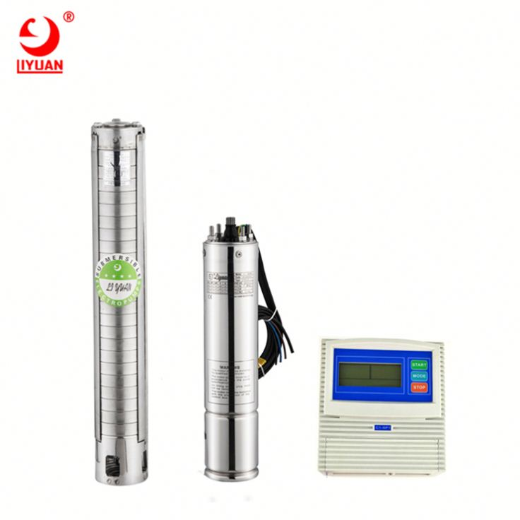 Hight Quality High Pressure Solar Submersible Deep Well Pump System